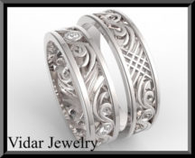 Diamond Matching Wedding Band