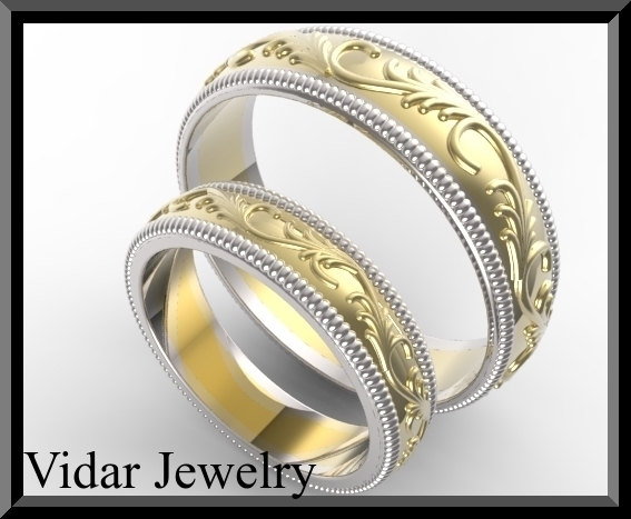 custom made wedding ring set - Custom Made Wedding Rings